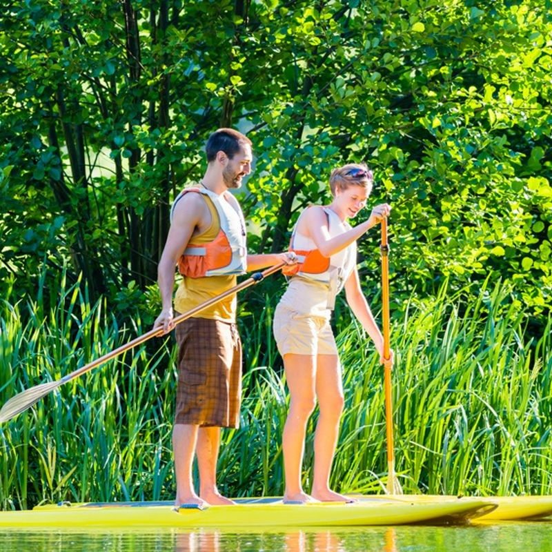 Stand-up-Paddling ab 5 Personen Burg