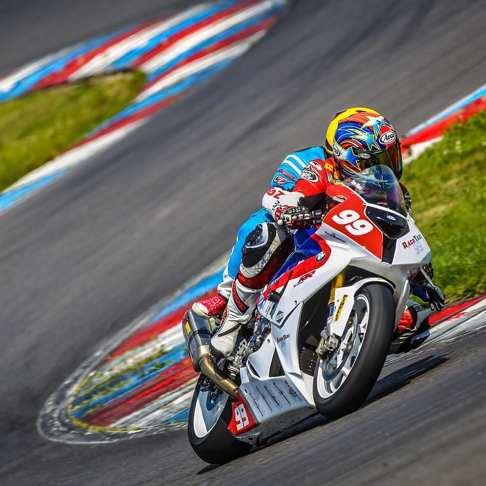 BMW S1000 RR Suberbike Taxi Lausitzring