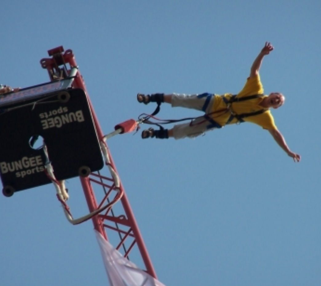 Bungee Jumping  -  Solo-Sprung in Berlin