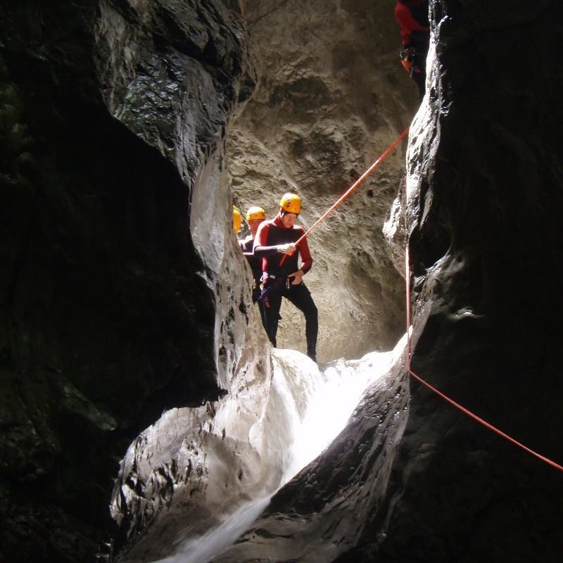 Canyoning-Tour – Garmisch-Partenkirchen
