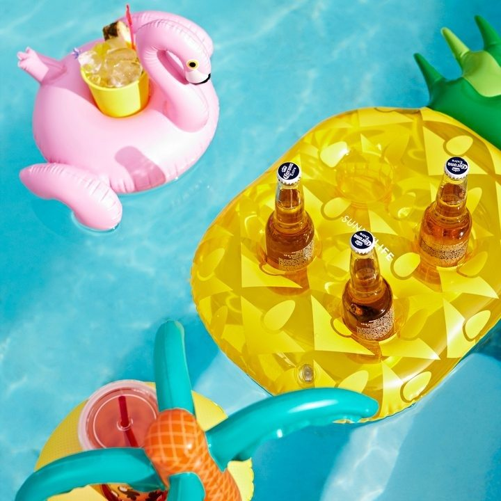 Inflatable Drink Holder - Pool