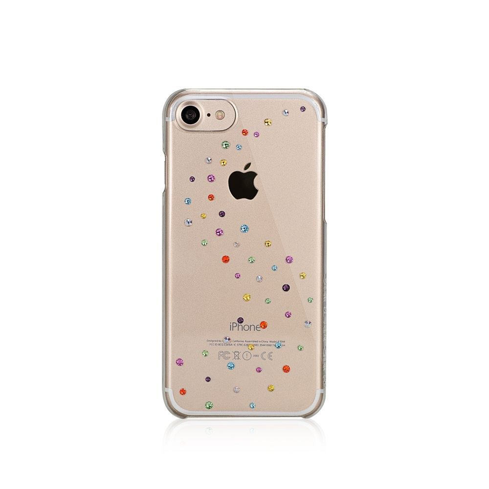 iphone 7 schutzh lle cotton candy mit swarovski kristallen. Black Bedroom Furniture Sets. Home Design Ideas