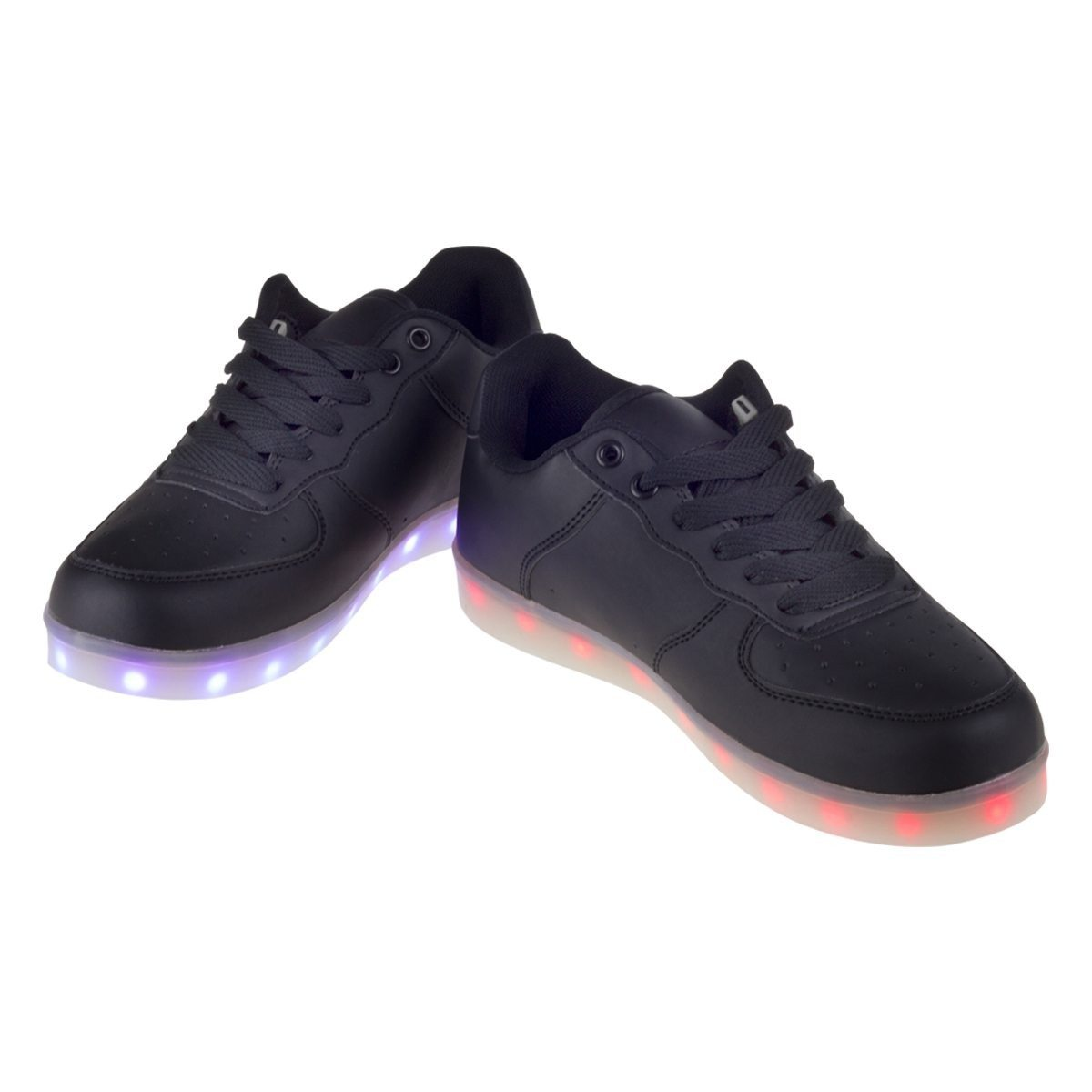 LED-Sneakers Modell unten