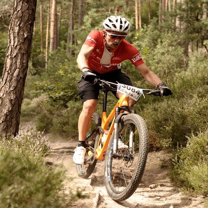 Mountainbike Individualtraining Wiesbaden Training Waldstrecke