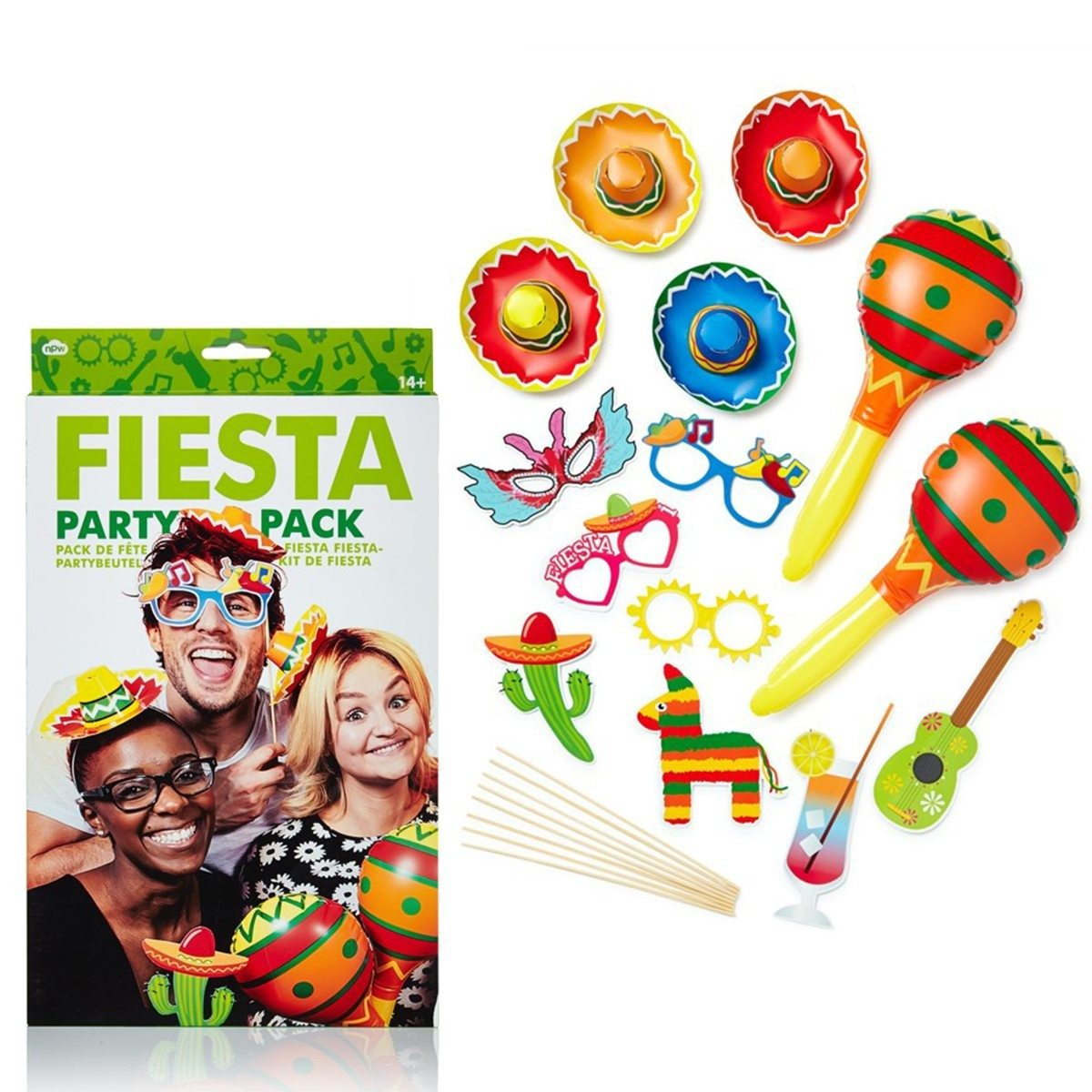 "Photo-Booth Partyset ""Fiesta"""