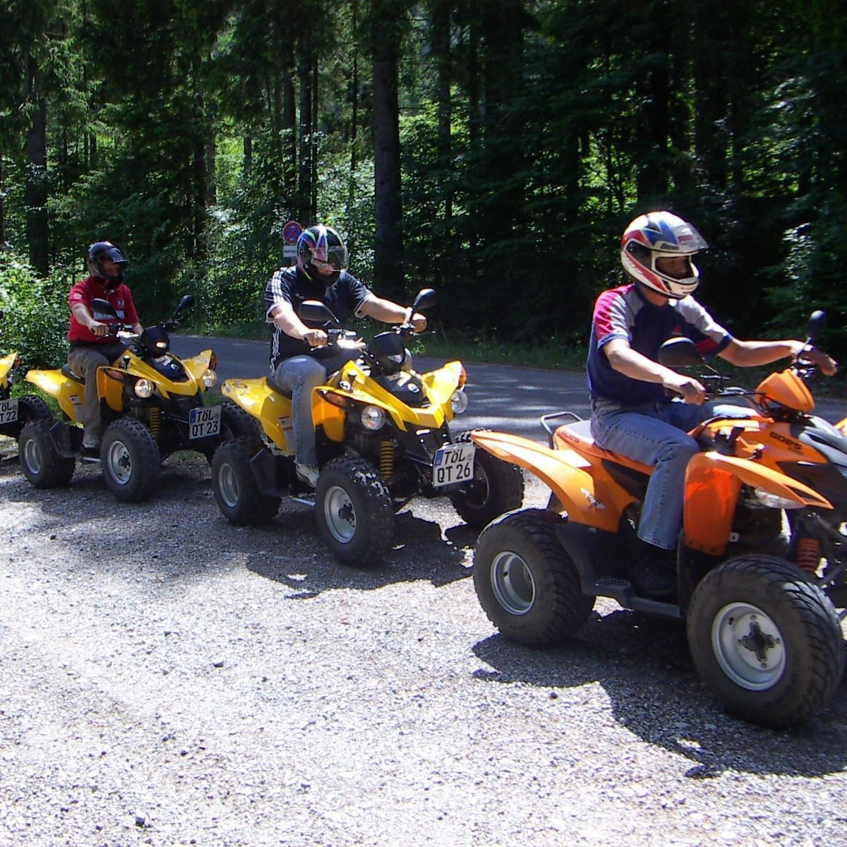 Quad-Tour – Lenggries