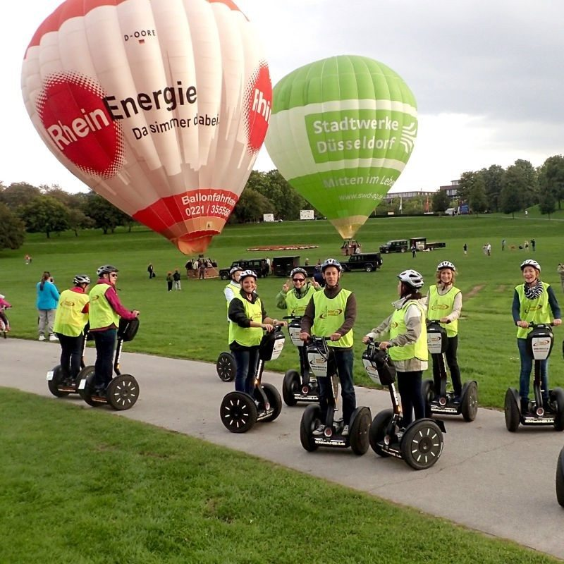 Segway-Tour am Rheinufer – Bonn