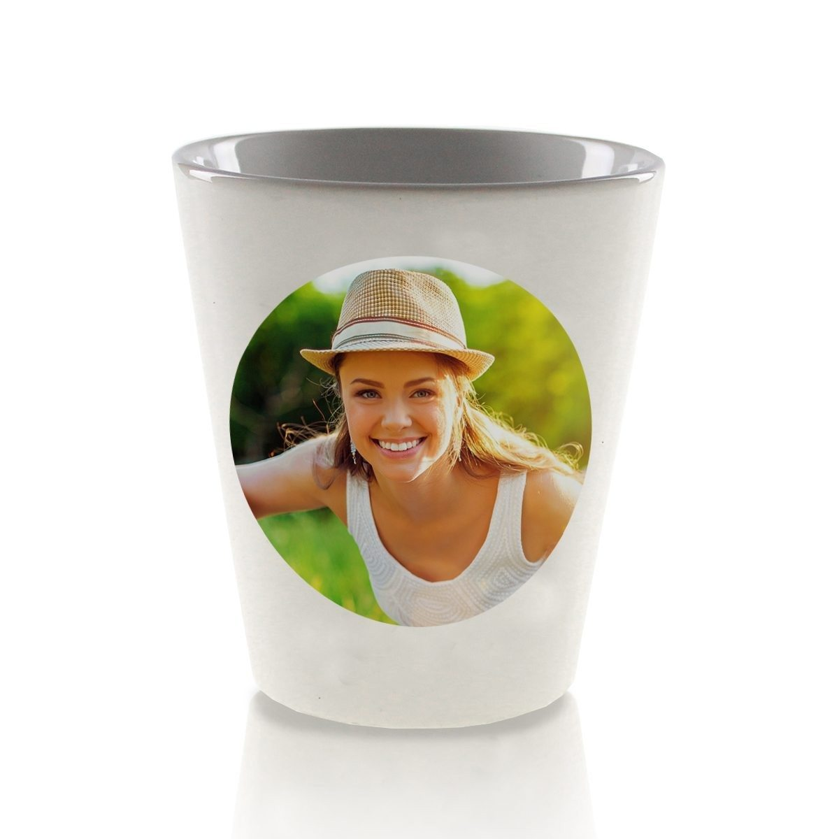 SMALL PERSONALIZED FLOWER POT