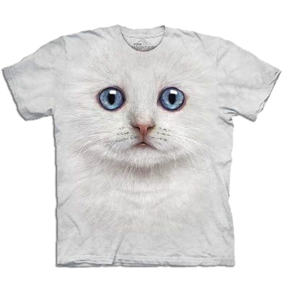 "T-Shirt ""Big Face"" – Katze"