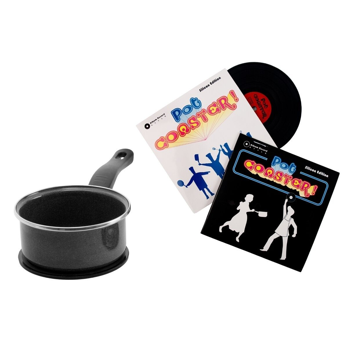 Coaster for Cooking Pot - Vinyl Record
