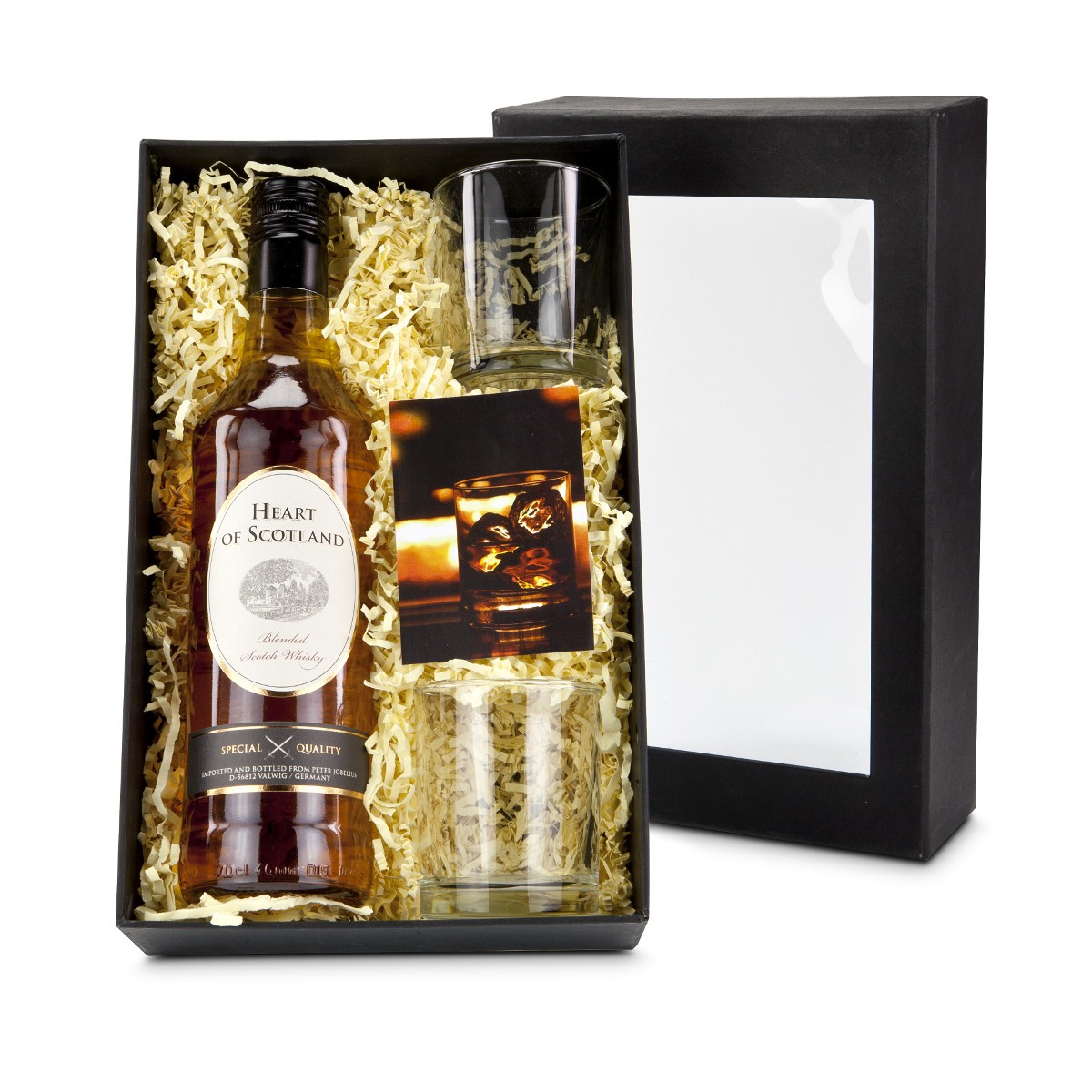 whisky set heart of scotland. Black Bedroom Furniture Sets. Home Design Ideas