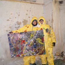 Action Painting Berlin Malen