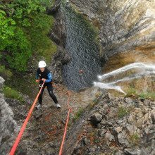 Canyoning - Raum Lechtal
