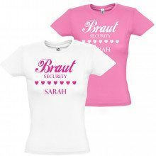 "Damen T-Shirt ""Braut Security"""