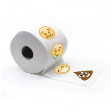 Emoticon-Toilettenpapier in OVP
