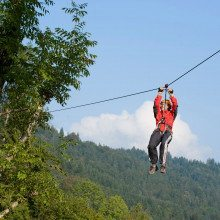 "Gruppenevent ""Flying Fox"" - Lenggries"