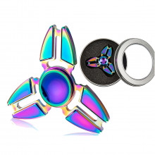 Metall-Crazy Gyro Spinner Rainbow I