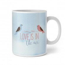 Personalisierbare Tasse - Love Is In The Air