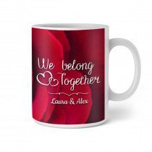 PERSONALISIERBARE TASSE - WE BELONG TOGETHER