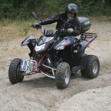 Quad-Tour on- & offroad - Berlin
