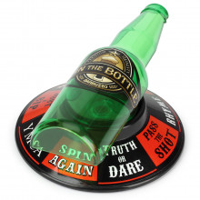 Truth or dare bottle spinning game