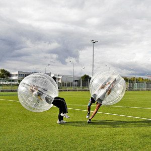 Bubble Football für 10 - Wien