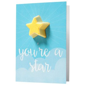 "Geschenkkarte ""You're a Star"""