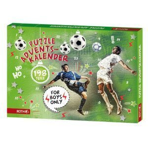 "Puzzle-Adventskalender ""For Boys"""