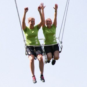 "Gruppenevent ""Hochseilgarten & Flying Fox"" - Lenggries"