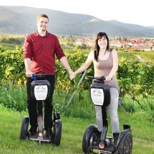 Honeymoon Segway-Tour - Raum Landau in der Pfalz