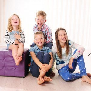 Kinder-Fotoshooting - Essen