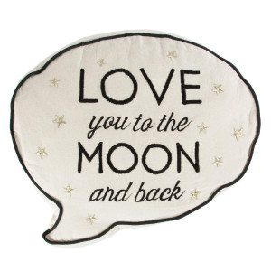 Kissen Love you to the moon and back