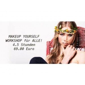 "MAKEUP WORKSHOP CLASSIC  ""Do it Yourself""- Makeup Schule Köln - 4 Stunden"