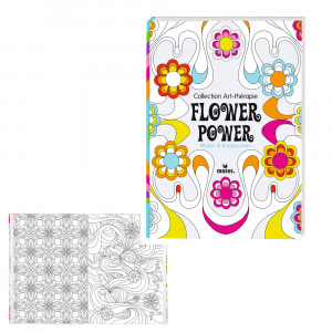 "Malbuch ""Flower Power"""