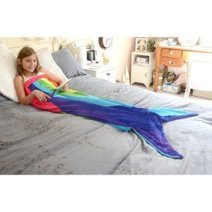 Snug-Rug Rainbow Mermaid Tail Blanket_3