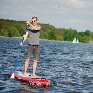 Stand-Up-Paddling-Tour Pfaueninsel Berlin