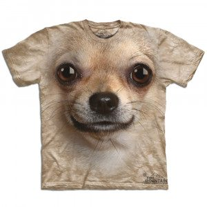 Big Face Tier-T-Shirts - Chihuahua