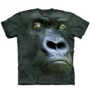 "T-Shirt ""Big Face"" – Gorilla"