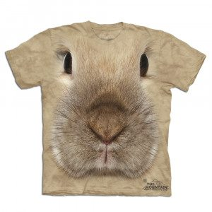 "T-Shirt ""Big Face"" – Hase"