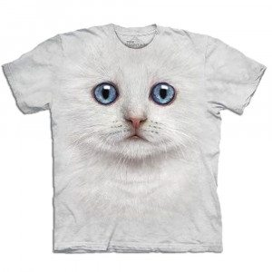 Big Face Tier-T-Shirts - Katze