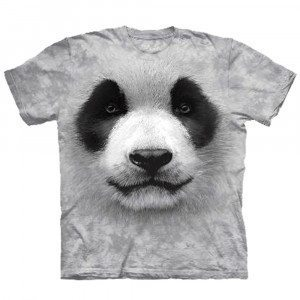 Big Face Tier-T-Shirts - Panda