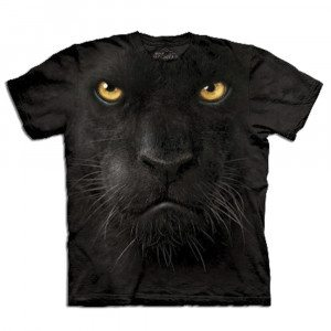 "T-Shirt ""Big Face"" – Panther"