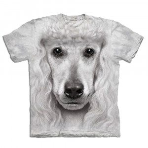 "T-Shirt ""Big Face"" – Pudel"