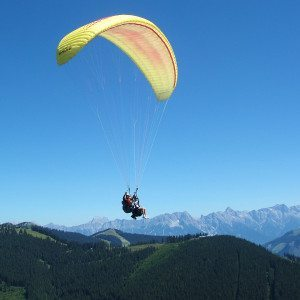 Tandemflug in Zell am See