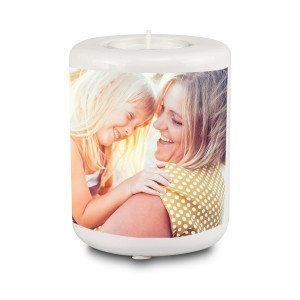 PERSONALIZED TEA CANDLE HOLDER WITH PHOTO PRINT