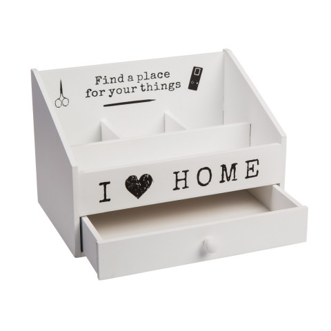 Holz Box I love home