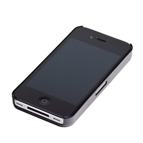 I-phone 4,4S Cover - schwarz