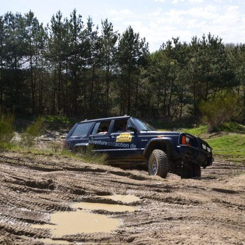 Jeep Offroad fahren am Nürburgring