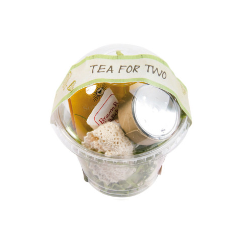 Kleiner Wunderbecher to go Tea for Two