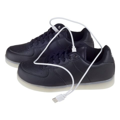 LED-Sneakers Modell side